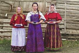 Rusko před komunisty: Carská říše na unikátních barevných fotografiích