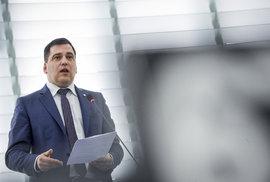 Český europoslanec Tomáš Zdechovský