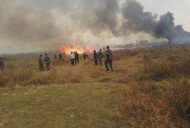 V Nepálu havarovalo letadlo.