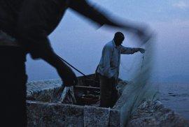 Rybáři najezeře Kivu