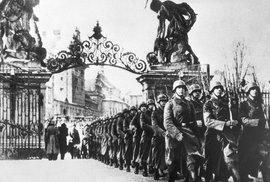 Německá okupace českých zemí chronologicky: od maďarského útoku po Hitlerův příjezd do Prahy