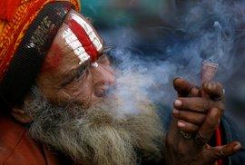 Hinduističtí svatí muži v Indii
