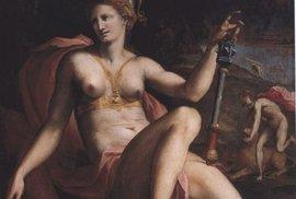 Nádor prsu na malbě