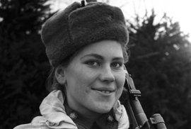 Sovětská odstřelovačka Roza Šaninová