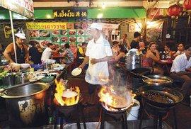 Tisíc chutí Bangkoku: Thajská metropole vás ohromí širokou nabídkou pouličních …