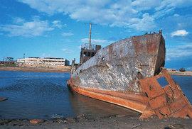 Ekologická katastrofa: Vysychající Aralské jezero se pomalu proměnuje v nelítostnou poušť Aralkum