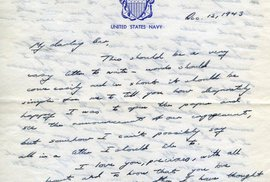 Svět dojímá milostný dopis, který poslal zamilovaný George Bush starší své budoucí ženě…