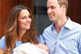 Je to kluk! Vévodkyně Kate a princ William mají třetího potomka
