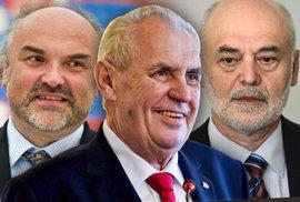 Prezident Zeman nejmenuje profesory Univerzity Karlovy, i když ho k tomu vyzval soud
