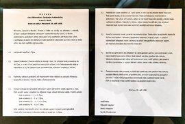 Dokument: Kompletní znění mnichovské dohody z roku 1938, která zničila Československo