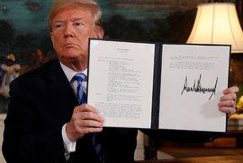 Trump přitvrzuje vůči Íránu. USA zruší povolení dovézt do země letadla Boeing i Airbus