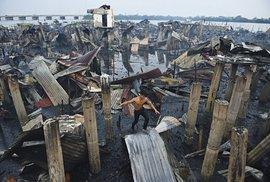 Zničené domy, Bacoor