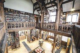 Ubytování pro milovníky literatury: Spánek mezi miliony příběhů v knihovně Gladstone