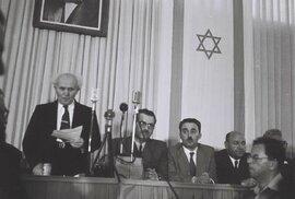 Stát Izrael vznikl v květnu 1948. Hned na začátku své existence byl blízko zániku po…
