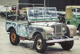 Land Rover: Legendární britský teréňák oslavil 70 let. Vznikl za zvláštních okolností