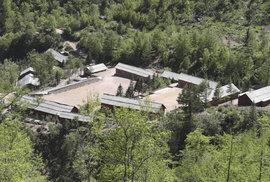 Likvidace hlavní jadernou střelnici u obce Pchunggje.