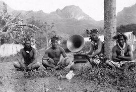 Obyvatelé ostrova Nuku Hiva (Francouzská Polynésie, 1907)