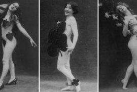 Unikátní akty: Krásné a sexy fotografie mladých žen z 20. let minulého století.…