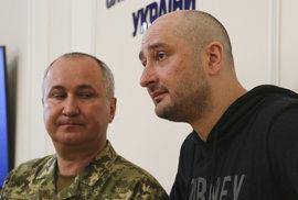 """""""Zavražděný"""" ruský novinář Babčenko je naživu. Vraždu prý zinscenovali Ukrajinci. Moskva mluví o propagandě"""
