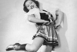 Krásná balerína Franceska Mannová