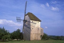 Tip na cyklovýlet: Větrný mlýn u Starého Poddvorova je unikátní technickou památkou…