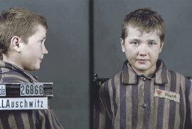 Děti zavražděné nacisty: Jedinečné kolorované snímky, které mají připomenout oběti …