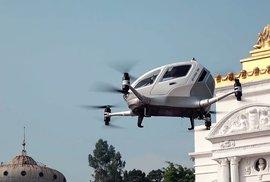Taxi ve vzduchu: Kdy už nás drony budou vozit po městě?