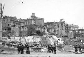 Ruiny, požár a totální zkáza: Unikátní snímky ukazují San Francisco po zničujícím…