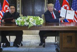 Výsledek summitu: Trump uspěl, Kim vyhrál. Krásné sliby ale berme s velkou rezervou