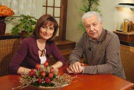 Přemek Podlaha a Kateřina Dušková v Receptáři