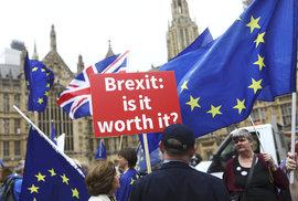 Britové v průzkumu poprvé řekli, že by chtěli další referendum, tentokráte o podmínkách Brexitu