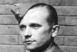 Válečný hrdina Jozef Gabčík, který se podílel na atentátu na Reinharda Heydricha.