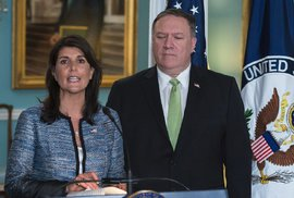 Spojené státy odcházejí z Rady OSN pro lidská práva. Rada si prý z lidských práv tropí posměch
