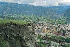 Švýcaři vybudovali své bunkry po celé zemi.