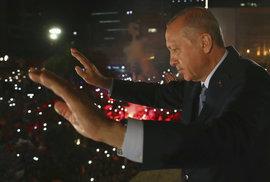Turecký prezident Recep Tayyip Erdogan po letošních vítězných volbách
