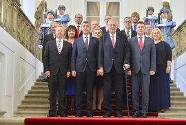 Prezident Miloš Zeman jmenoval druhou vládu Andreje Babiše