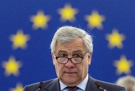 Antonie Tajani, předseda Evropského parlamentu
