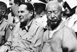 Korejská republika získala nezávislost v srpnu 1948. První prezident před tím nechal zavraždit svého konkurenta