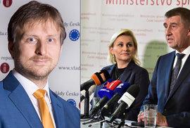Kdo je nový ministr Kněžínek? Úředník loajální k Babišovi