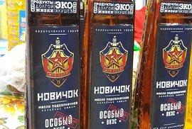 V Rusku se prodávají výrobky s názvem novičok. Třeba i rostlinný olej.