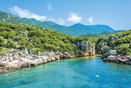 Turecko: Zaplavte si sbarakudami