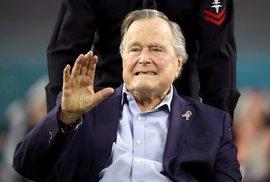 Zemřel americký prezident George Bush starší. Porazil Saddáma Husajna, stál u konce…