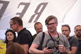 REFLEX STAGE 2018: Český, avšak nyní i německy píšící spisovatel mezi fanoušky.