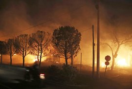 Nejméně 50 mrtvých si vyžádaly tragické lesní požáry v Řecku. Mezi obětmi je i půlroční dítě