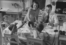 Jak vypadal život americké ženy v domácnosti ve 40. letech 20. století?