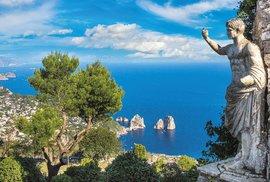 Ostrov Capri: Rajská zahrada v Tyrhénském moři