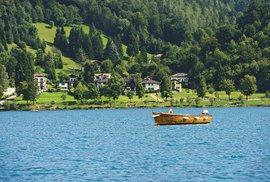 Lago di Ledro je s délkou tří kilometrů ideálním místem pro vodní sporty