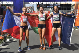 Vrabcová Nývltová má evropský bronz z maratonu. Jako první v historii Česka i Československa