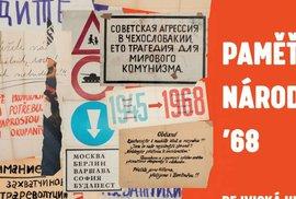 50 let od sovětské okupace: Výstava Paměť národa '68 připomene osudy lidí, kteří invazi prožili na vlastní kůži