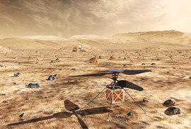 Rover Mars 2020 dopraví na planetu i malý dron